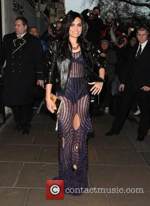 Jessie J The Brit Awards 2012 Nominations held at the Savoy- Arrivals London, England - 12.01.12