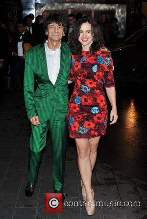 Ronnie Wood And Fiancee Spark Secret Wedding Speculation