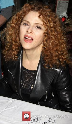 Bernadette Peters attending the 26th Broadway Cares Flea Market held in Times Square New York City, USA - 23.09.12