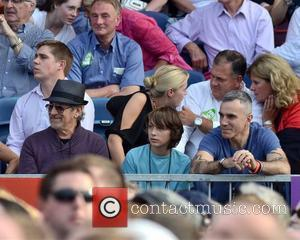 Steven Spielberg, Daniel Day Lewis and guests watch Bruce Springsteen perform at The RDS  Dublin, Ireland - 17.07.12.
