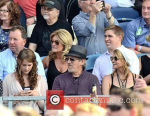 Steven Spielberg, wife Kate Capshaw watch Bruce Springsteen perform at The RDS  Dublin, Ireland - 17.07.12.