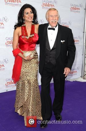 Bruce Forsyth and wife Wilnelia Merced The Caudwell Children Diamond Butterfly Ball at Battersea Evolution London, England - 31.05.12