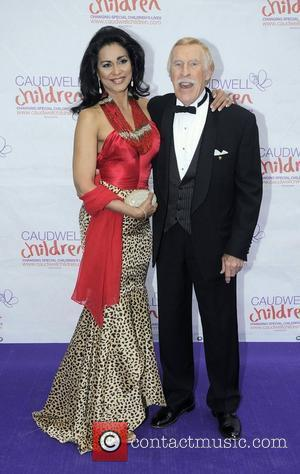 Bruce Forsyth and wife Wilnelia Caudwell Children Diamond Butterfly Ball - Arrivals London, England - 31.05.12