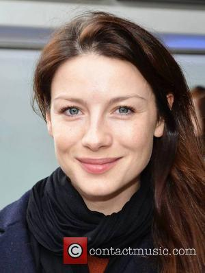 Caitriona Balfe Caitriona Balfe and hair stylist Michael Doyle go for lunch together at Wagamama  Featuring: Caitriona Balfe Where:...