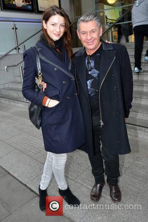 Caitriona Balfe; Michael Doyle Caitriona Balfe and hair stylist Michael Doyle go for lunch together at Wagamama  Featuring: Caitriona...