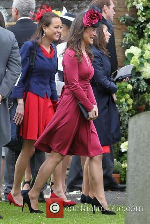 Pippa Middleton  The wedding of Camilla Hook and Sam Holland in Scotland Scotland - 19.05.12