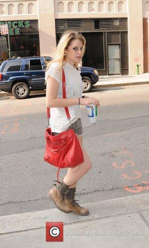 'Suburgatory' actress Carly Chaikin  arrives at her Manhattan hotel New York City, USA - 16.05.12