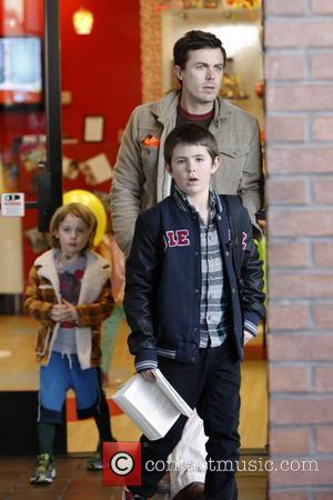 Casey Affleck; Atticus Affleck; Indian Affleck Casey Affleck leaves Kidsville in Santa Monica with his children Indiana and Atticus. They...