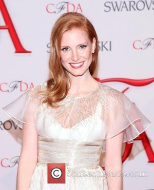 Jessica Chastain Caught Without Make-up While Voicing Madagascar 3