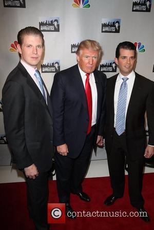 Donald Trump,  Donald Trump, Jr., Eric Trump NBC's 'Celebrity Apprentice: All-Stars' cast announced at Jack Studios New York City,...
