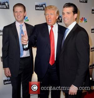Donald Trump, Jr., Eric Trump, Donald Trump NBC's 'Celebrity Apprentice: All-Stars' cast announced at Jack Studios New York City, USA...