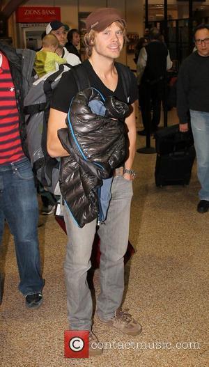 Eric Christian Olsen Celebrities arrive at Salt Lake City International Airport for The Sundance Film Festival 2012 Salt Lake City,...