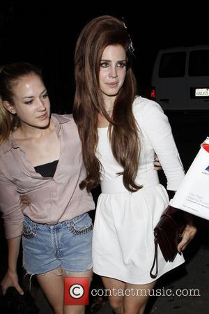 Lana Del Rey arriving at Chateau Marmont restaurant with a friend in West Hollywood Los Angeles, California - 06.06.12