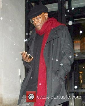 Samuel L. Jackson seen leaving the Corinthia Hotel London, England - 19.10.12