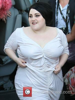 Beth Ditto  arriving at Le Grand Journal TV Show during the 65th Cannes Film Festival Cannes, France - 16.05.12