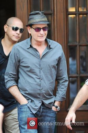 Charlie Sheen Loses Temper With His Ipad