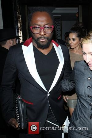 Will.i.am And Cheryl Cole In Minor Car Accident