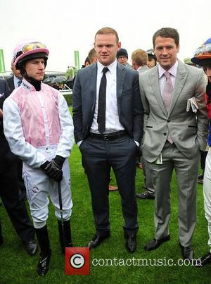 Wayne Rooney and Michael Owen May Cup Day held at Chester racecourse Cheshire, England - 09.05.12