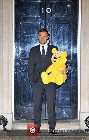 Gary Barlow Children In Need - drinks reception held at 10 Downing Street - Arrivals. London, England - 10.01.12
