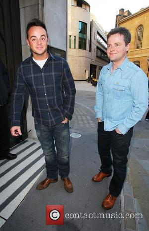 Ant And Dec, Ant Mcpartlin and Declan Donnelly