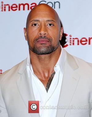 Dwayne Johnson Paramount Pictures Host Opening Night Presentation & Party at CinemaCon 2012 at Caesars Palace Resort and Casino...