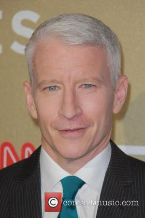 Anderson Cooper Sports an Eyepatch Having Gone Blind for 36 Hours