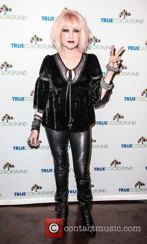 Cyndi Lauper and Friends: Home For The Holiday's Concert at The Beacon Theatre - Arrivals  Featuring: Cindy LauperWhere: New...