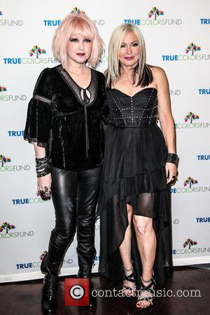 Cyndi Lauper and Friends: Home For The Holiday's Concert at The Beacon Theatre - Arrivals  Featuring: Cindy Lauper, Terri...