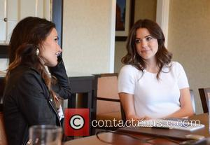 Jordana Brewster and Julie Gonzalo TNT's Dallas Press Junket at the Four Seasons hotel Philadelphia, Pennsylvania - 04.05.12