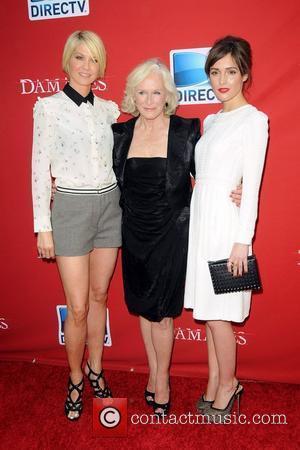 Jenna Elfman, Glenn Close and Rose Burn ,  Damages Season Five Premiere - Red Carpet Arrivals at The Paris...