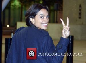 Rosario Dawson on the set of 'Trance' in London London, England - 17.10.12