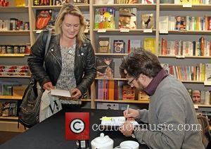David Mitchell  Meets Fans and Signs Copies of his Book 'Back Story' at Liverpool One Waterstones Liverpool, England -...