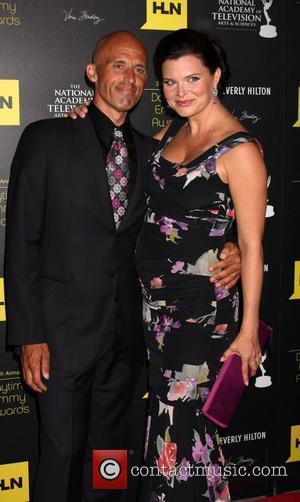 James Achor, Heather Tom 39th Daytime Emmy Awards - Arrivals Beverly Hills, California - 23.06.12