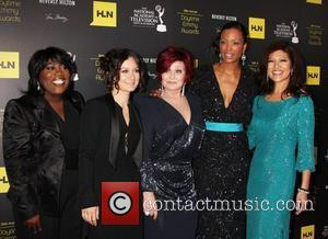 Sara Gilbert, Aisha Tyler, Julie Chen, Sharon Osbourne and Daytime Emmy Awards