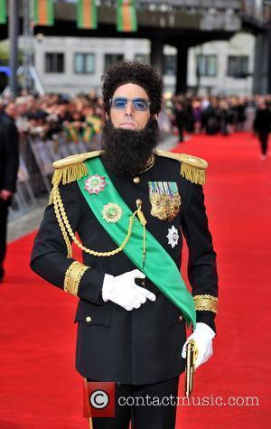 Sacha Baron Cohen and Royal Festival Hall