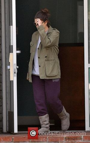 Drew Barrymore leaving the gym in Santa Monica with no make-up. Los Angeles, California - 05.12.12