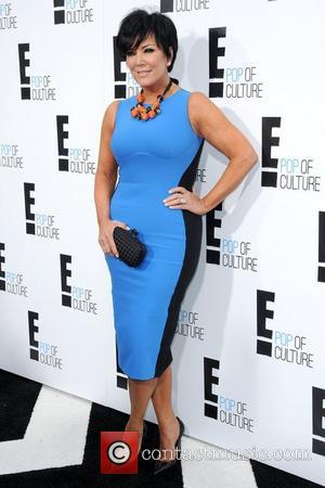 Kris Jenner 2012 'E' upfront presentation - Arrivals New York City, USA - 30.04.12