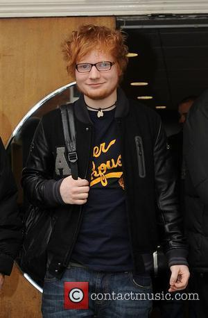 Ed Sheeran at the BBC Maida Vale studios London, England - 15.02.12