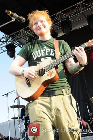 Ed Sheeran performs live at 'Bite of Las Vegas' held at Desert Breeze Park Las Vegas, Nevada - 29.09.12