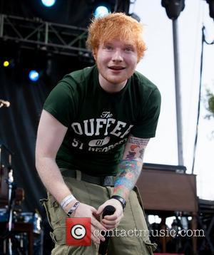 Ed Sheeran  performs live at 'Bite of Las Vegas' held at Desert Breeze Park Las Vegas, Nevada - 29.09.12