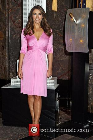 Elizabeth Hurley Turns Empire State Building Pink For Cancer Campaign