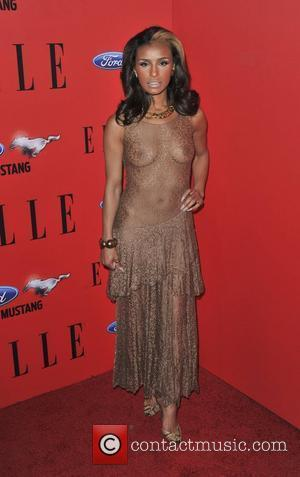 Melody Thornton Stuns In Sheer Dress