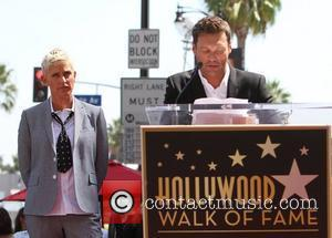 Ryan Seacrest and Ellen Degeneres