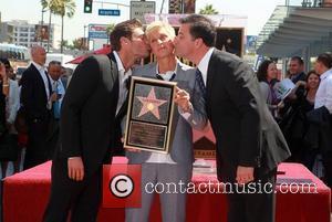 Ryan Seacrest, Ellen Degeneres and Jimmy Kimmel