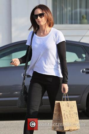 Emily Blunt leaving Byron and Tracey Salon Los Angeles, California - 30.03.12