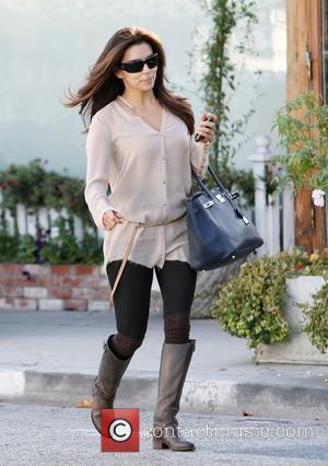Eva Longoria leaving a hairdressing salon in Beverly Hills. Los Angeles, California - 20.12.11