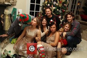 Jason Evigan, Victoria Evigan, Pam Evigan , Briana Evigan, Vanessa Evigan, Greg Evigan and Miles The Evigan Family Holiday party...