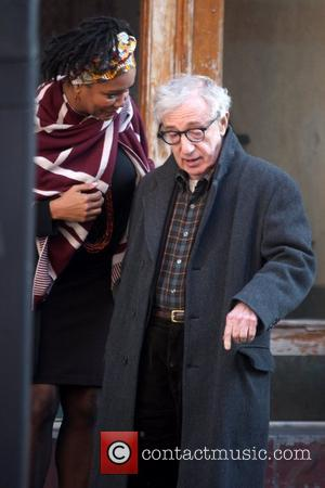 Woody Allen Celebrities on the set of 'Fading Gigolo' shooting on location in Manhattan New York City, USA - 17.11.12