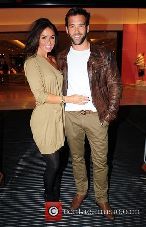 Jennifer Metcalfe and Sylvain Longchambon,  at the Tracey Bell & Fake Bake Beauty Boutique party at Selfridges. Manchester, England...