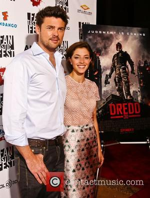 Karl Urban and Olivia Thirlby Fantastic Fest 2012 - Dredd 3D Premiere - Arrivals Austin, Texas - 20.09.12